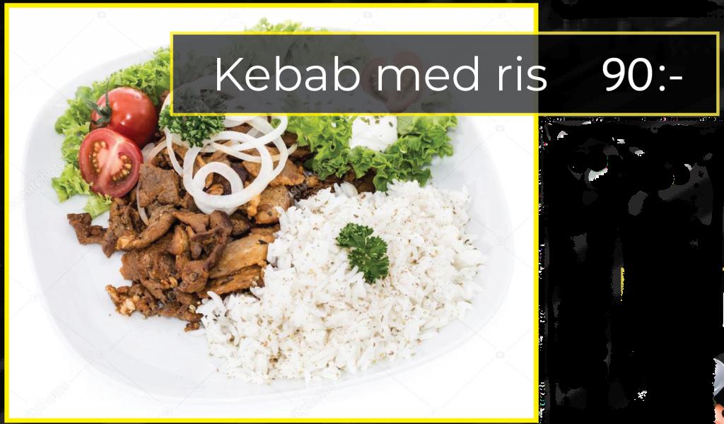 kebab med ris